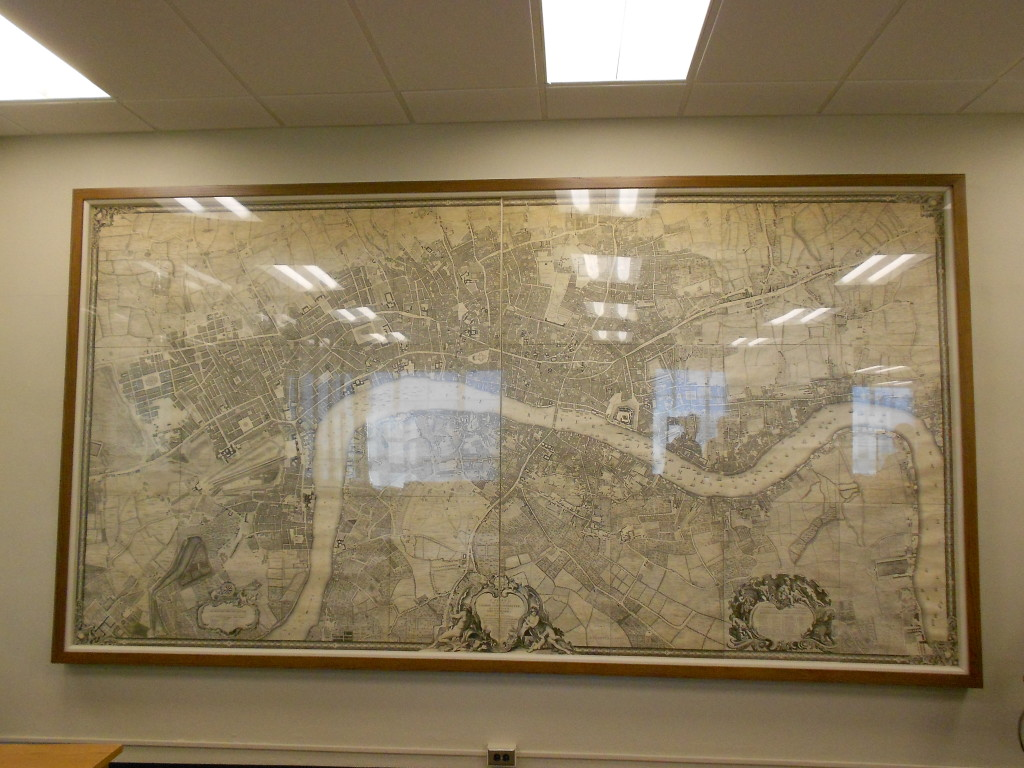 Thanks to a large cast of characters, the map will be protected and enjoyed for years and years and years to come!