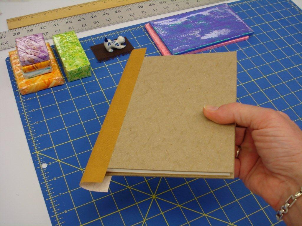 How To Make A Book Cover With Printer Paper ~ How to make a book the preservation lab