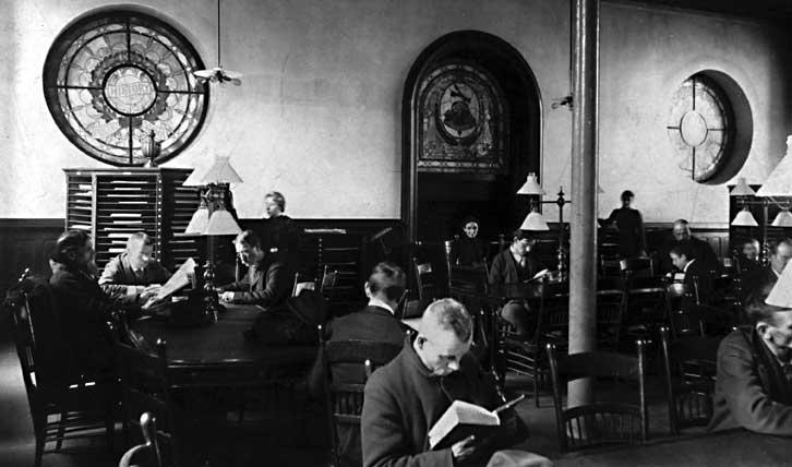 Reading room PLCH