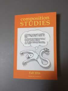 Cover of composition Studies.